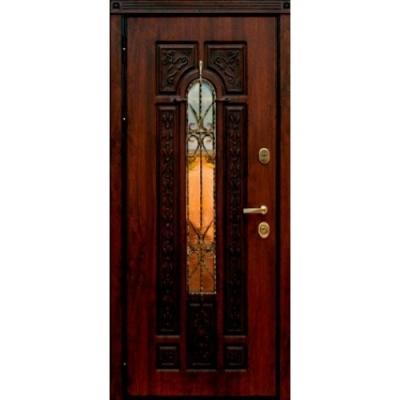 стальная дверь со стеклом купить