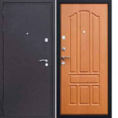 стальных дверях