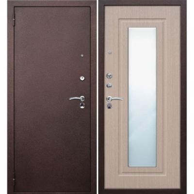 стальные двери с зеркалом цена