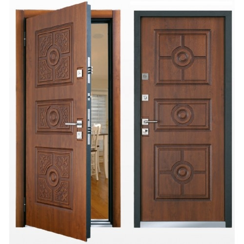 наружная и внутренняя входная дверь